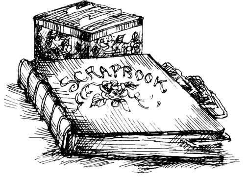 LOT Cox ScrapbooksWriting clip5